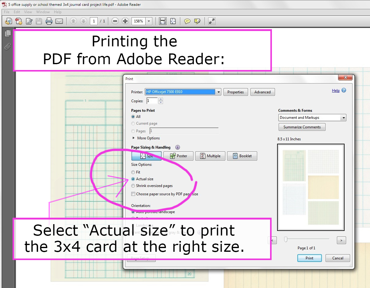Mel Stampz Free 3x4 Journal Filler Cards Silhouette Cut