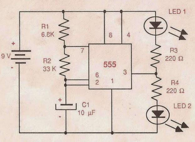 Circuito Sencillo : Circuito electrico sencillo de un semaforo solucionado