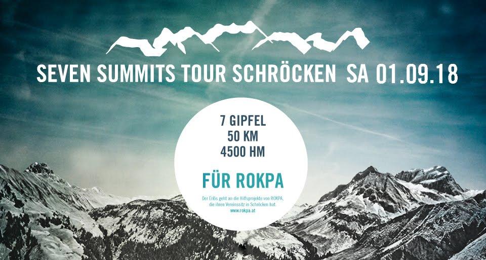 seven summits tour schröcken