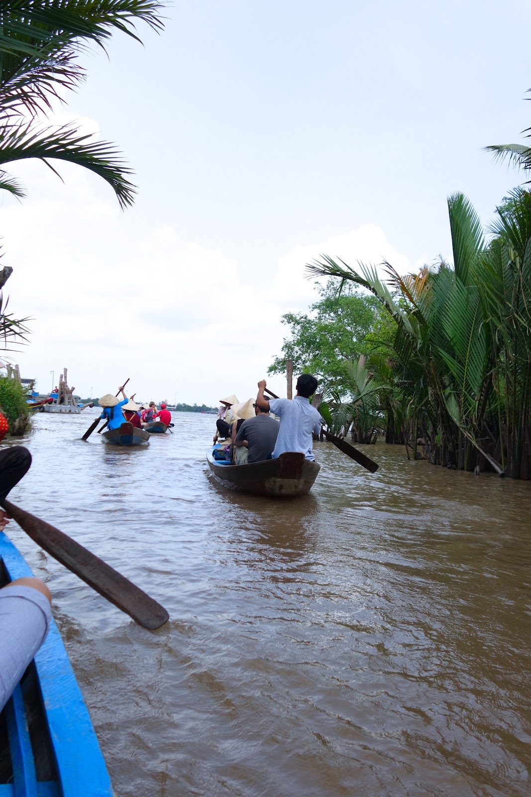 Sampan cruise on the tributary of the Mekong River, Vietnam 2015