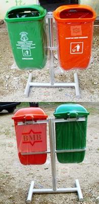 sampah fiber 120 L | bak sampah fiber | tempat sampah fiber organik ...