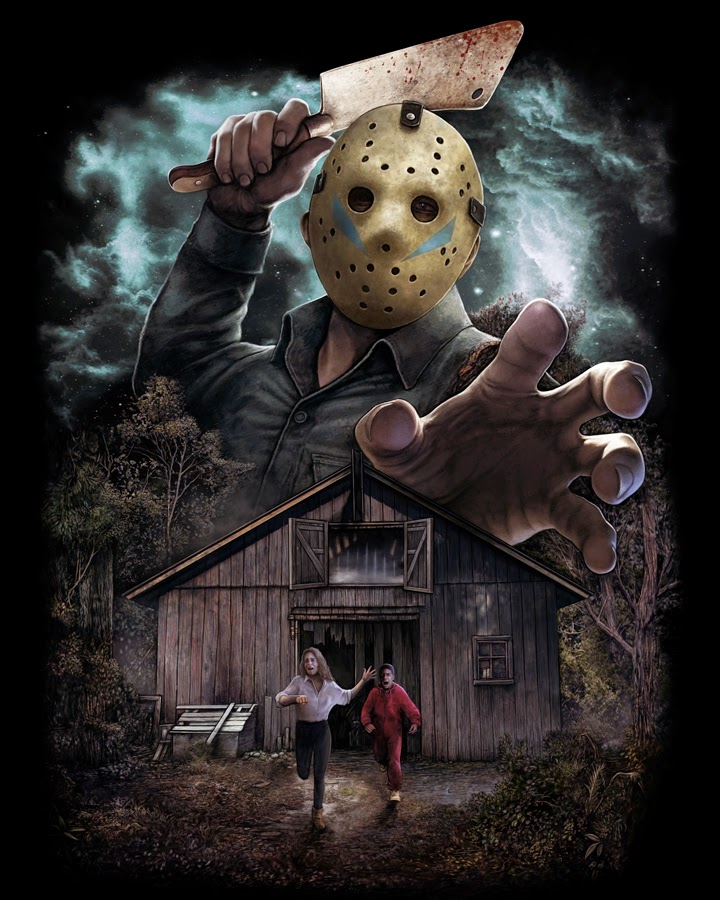 Revenge shirt for friday the 13th friday the 13th the franchise