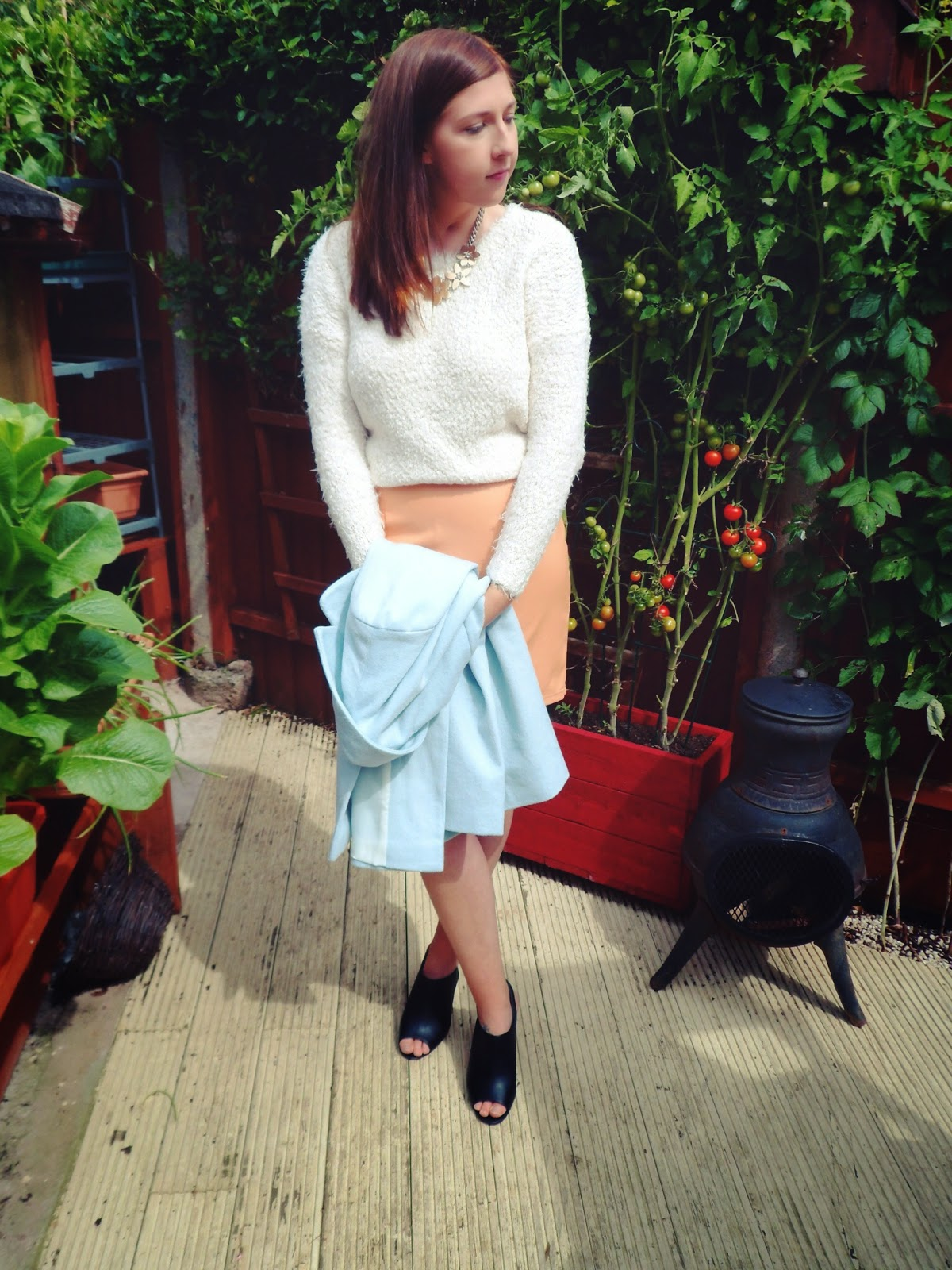 primark, autumn, winter, autumn/winter2014, ootd, Outfit of the Day, wiw, whatimwearing, whatibought, floral, necklace, shoppinghaul, fbloggers, fashionbloggers