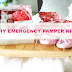 UHeart Organizing: DIY Emergency Pamper Kit