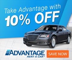 Advantage 10% off