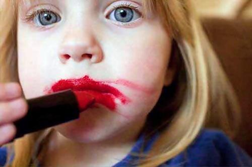 Paintings Of Girls Applying Make Up