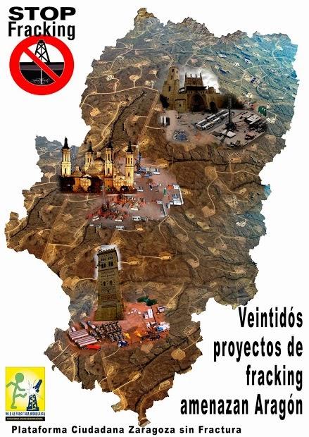 Por una ley que prohíba el fracking en Aragón