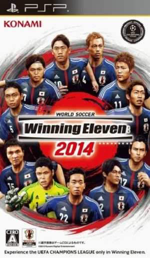 World Soccer Winning Eleven 2014 Psp