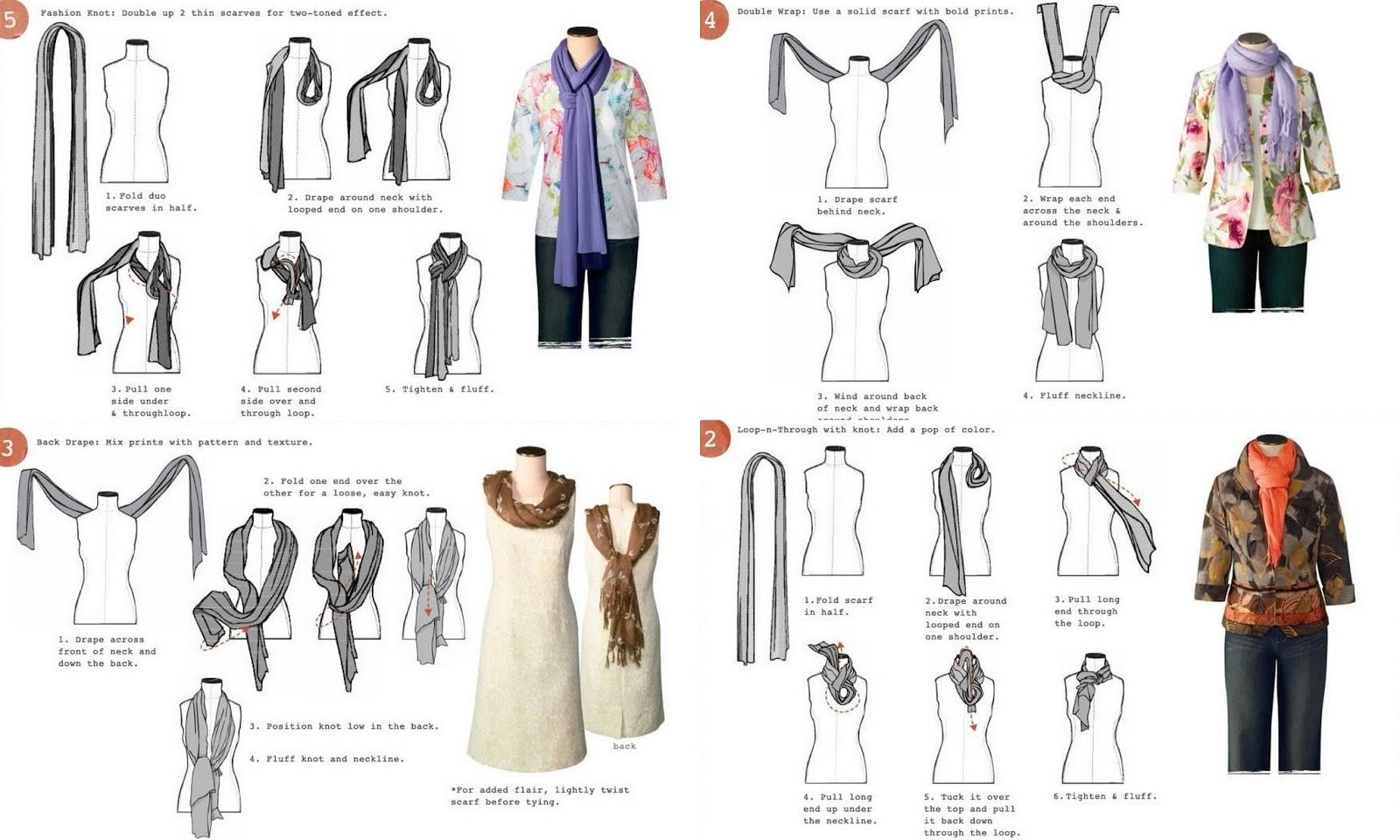Варианты завязывания шарфа для мужчин на пальто фото пошагово