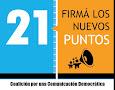 FIRMA LOS NUEVOS 21 PUNTOS DE LA CCD