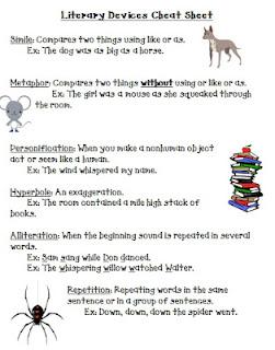 Figure 16] Literature Lessons: 'Think' Worksheet