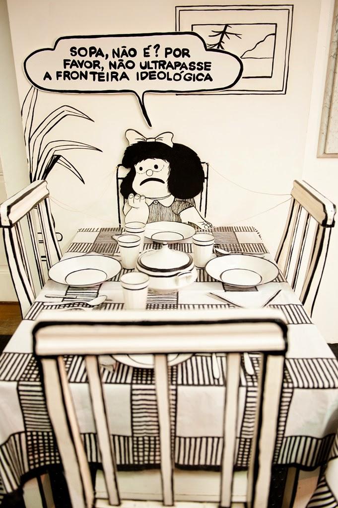 O Mundo Segundo Mafalda_foto Sylvia Masini