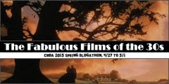 cmba fabulous films of the 30s blogathon