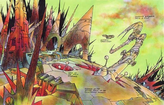 SITE WEB - Transformers (G1): Tout savoir en français: Infos, Images, Vidéos, Marchandises, Doublage, Film (1986), etc. - Page 2 Massive+Grabber+on+Spiked+Moon+of+Quintesson+Planet