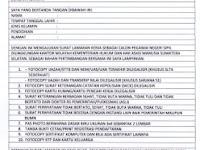 Cara Membuat Surat Lamaran CPNS 2012