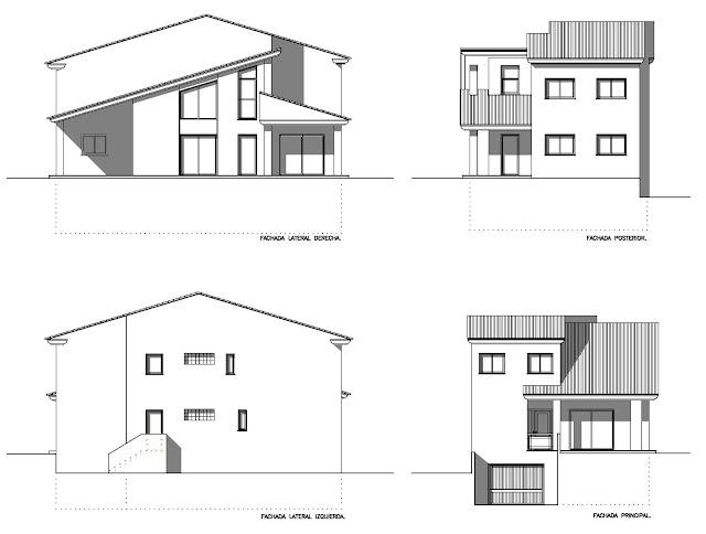 Planos low cost vivienda unifamiliar en dos plantas for Plantas de viviendas