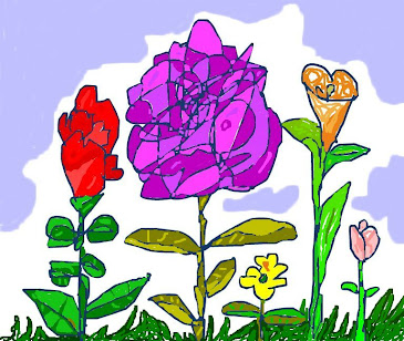 Flores al aire.