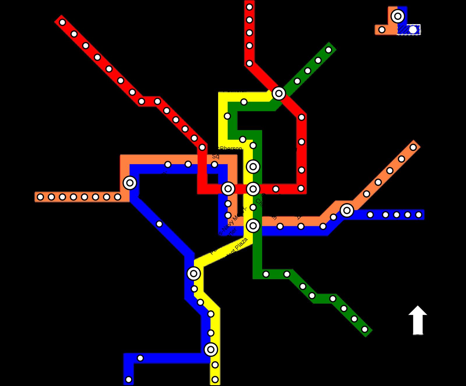 Mapa metro estocolmo - Metro de estocolmo ...