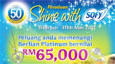 Peraduan Shine With Sofy