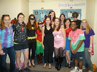 room of requirement costumes pacman watermelon batman robin catwoman red riding hood linnehan saint michael's college shuttle dance