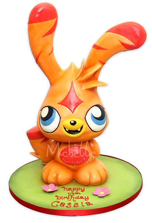Moshi Monsters Katsuma Cake