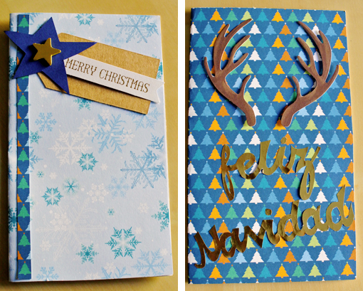 christmas cards felicitaciones navidad DIY