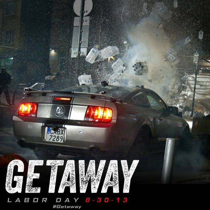 Getaway Ethan Hawke Will Destroy His Shelby Car