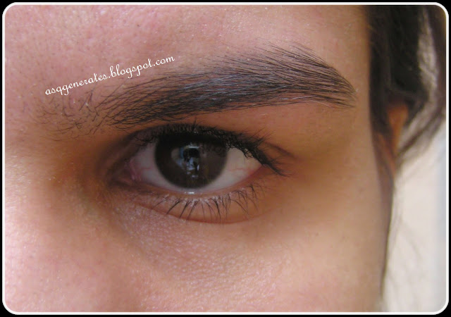 Groom Eyebrows finishing steps
