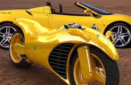 Bela Moto Carros E Motos Amarela Ame Ou Odeie