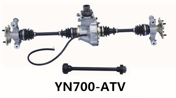 Atv Front Axle Assembly : Atv axle cc rear assembly