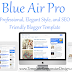 Blue Air Pro Responsive Blogger Template