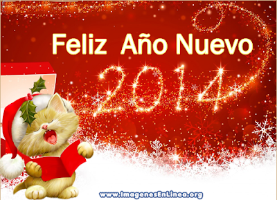 Feliz 2014, tarjetas bonitas de año nuevo