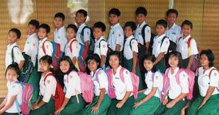 Baju uniform sekolah Myanmar