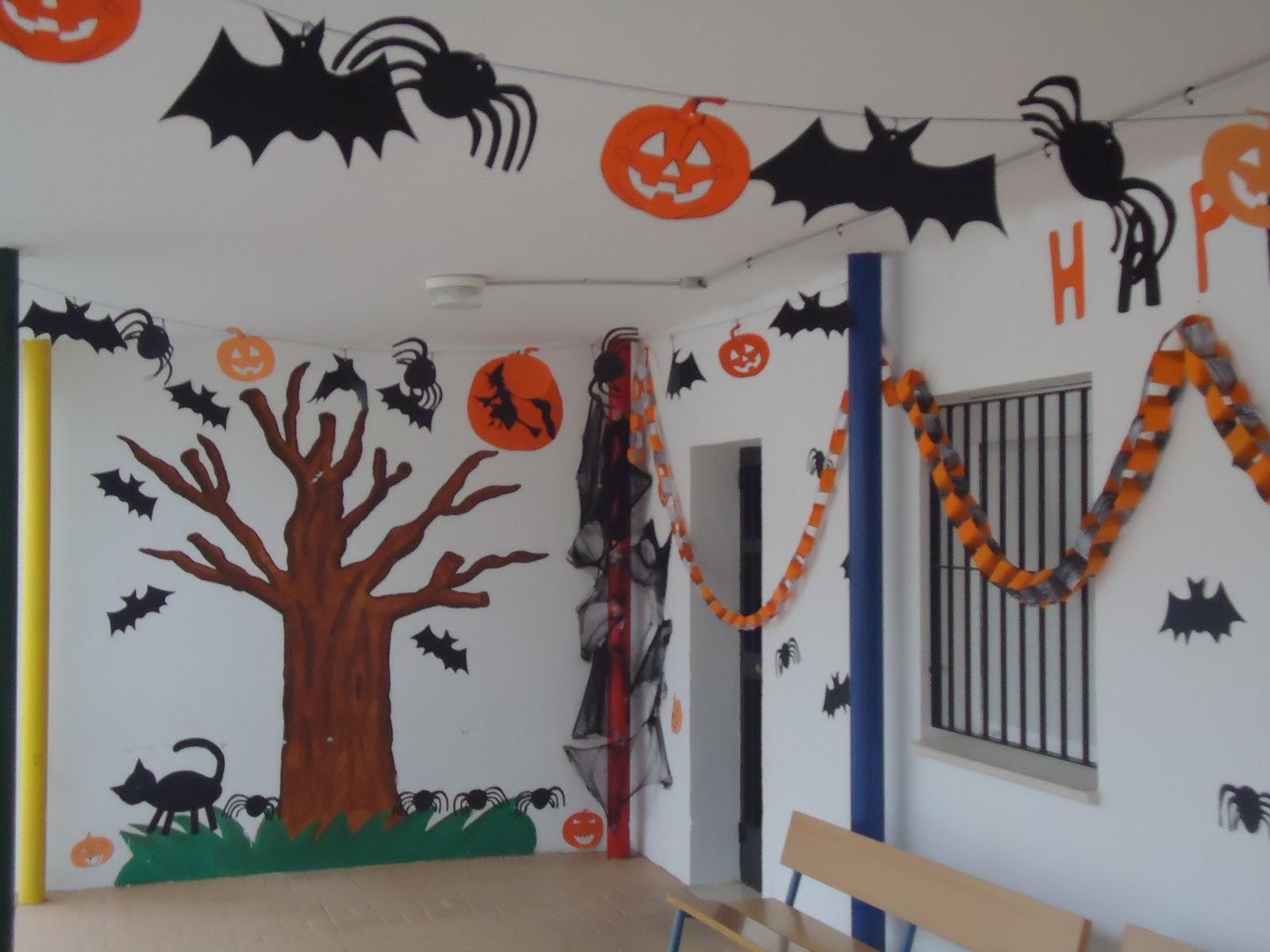 Colegio rodriguez vega de almedinilla c rdoba halloween truco o trato - Decoracion halloween infantil ...