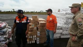 Defesa Civil do Amazonas reforça ações de ajuda humanitária em Boca do Acre que decretou Estado de Calamidade Pública por conta enchente