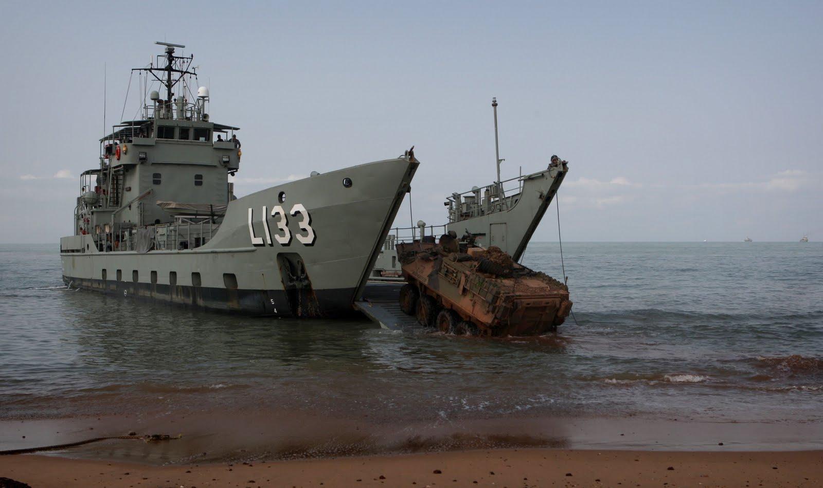 Navy buying 3 more landing craft vessels asean military for Military landing craft for sale