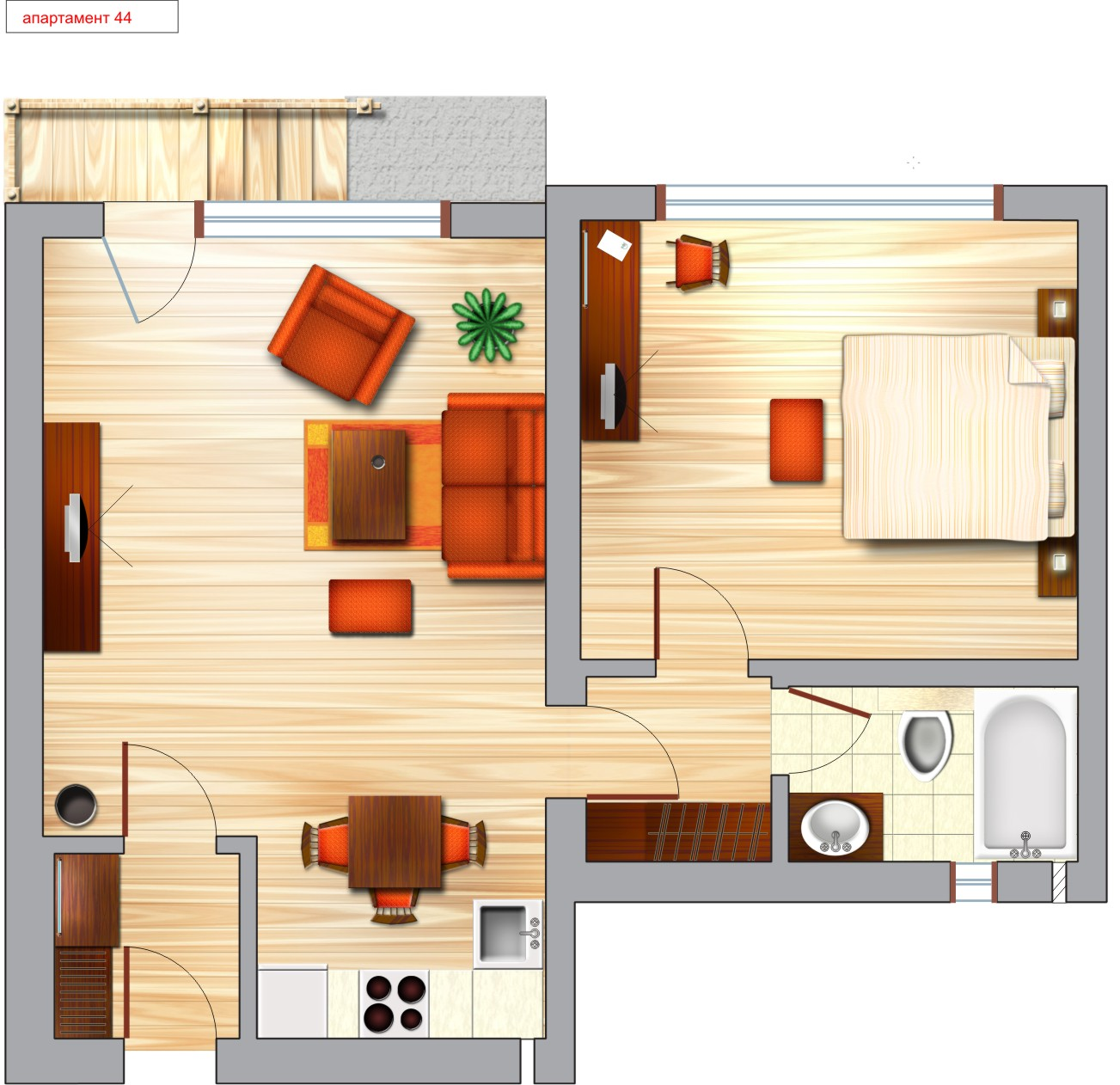 Layout of hotel rooms 2 interiors blog for Bedroom planner