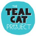teal cat