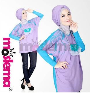 Aneka Baju Muslim Kaos Lebaran untuk Remaja Terbaru