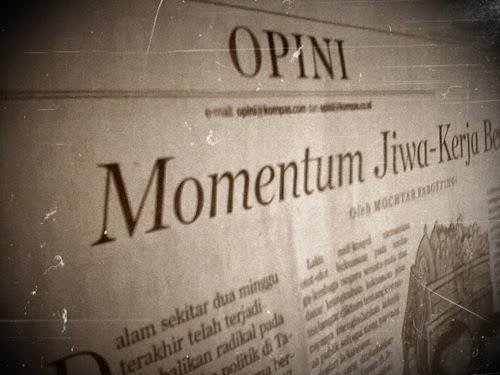 Opini Dalam Surat Kabar
