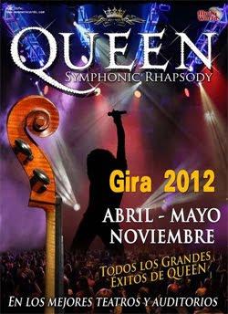 Conciertos de Queen Symphonic Rhapsody en noviembre en España