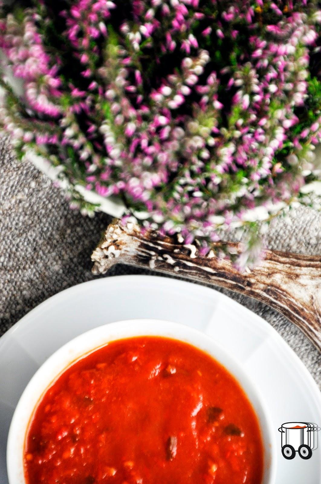 Szybko Tanio Smacznie - Zupa krem paprykowo-pomidorowy