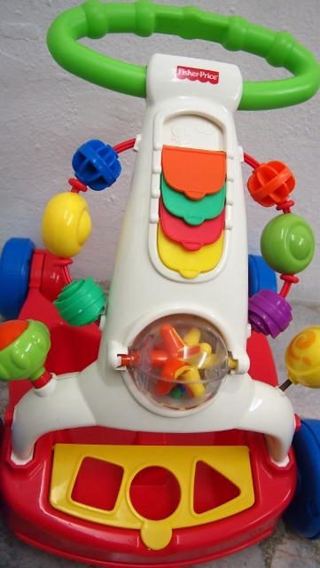 fisher price walker to wagon instructions