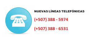 NUEVAS LÍNEAS TELEFÓNICAS
