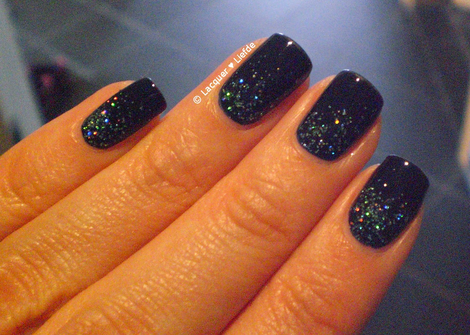 Sally Hansen so nata Problem Rival de Loop Snow Glitter