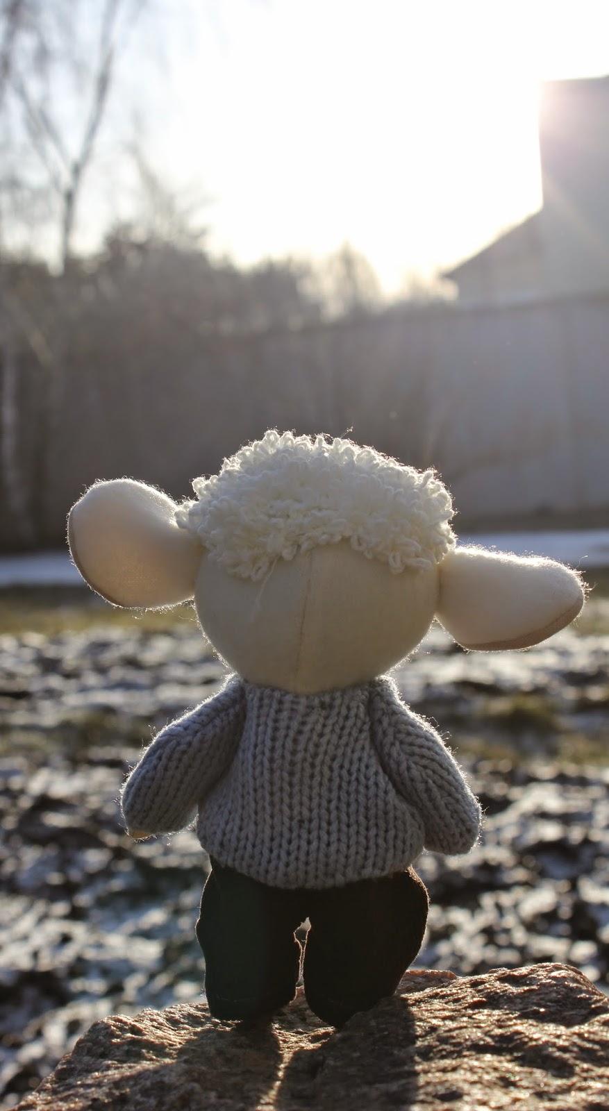 овечка, игрушка