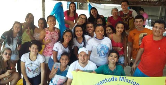 Em Tocantins acampamento jovem marcou um ano de JM