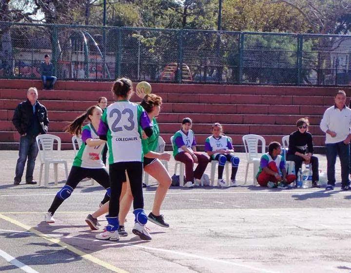 La Voz Del Barrio Colegiales Otra Fiesta De Handball En