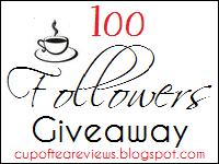 Cups of Tea Reviews:100 Followers Giveaway