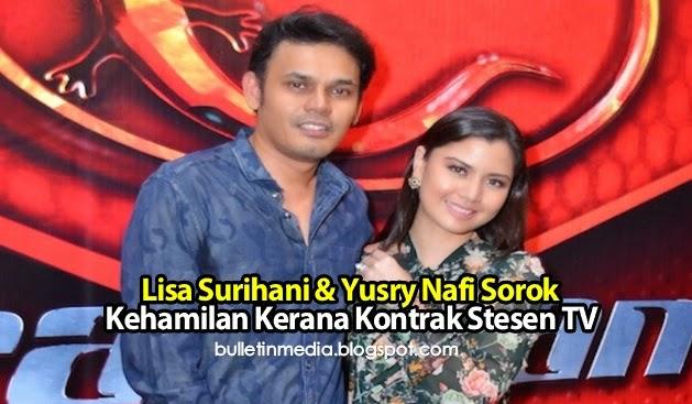 Lisa Surihani & Yusry Nafi Sorok Kehamilan Kerana Kontrak Stesen TV?..